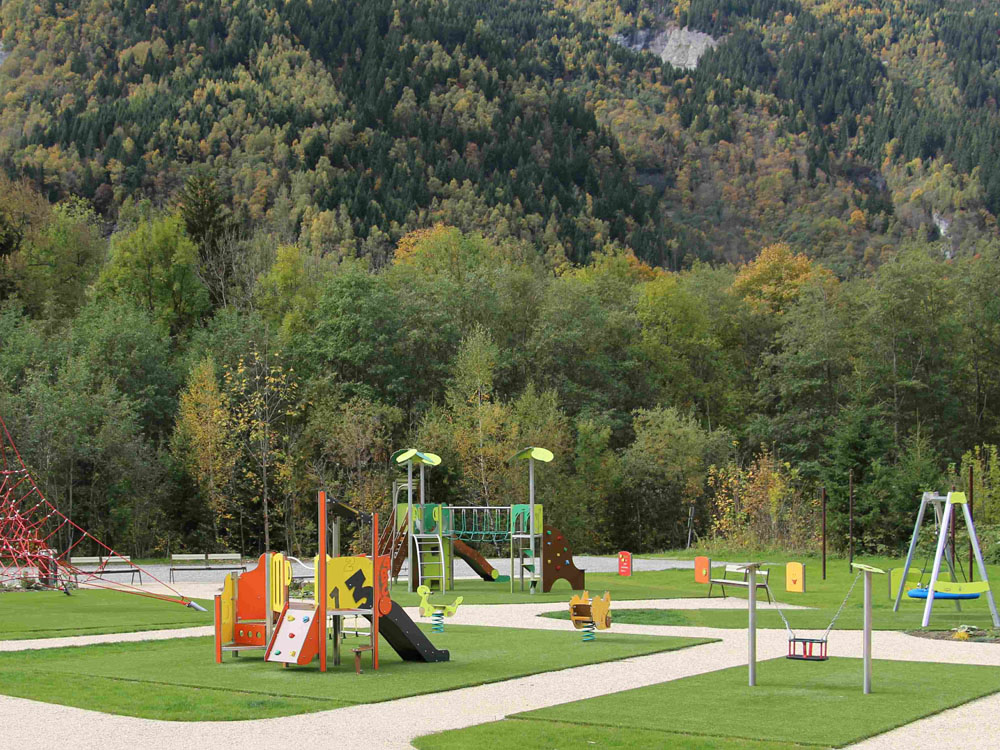 PLAYGROUNDS AREA
