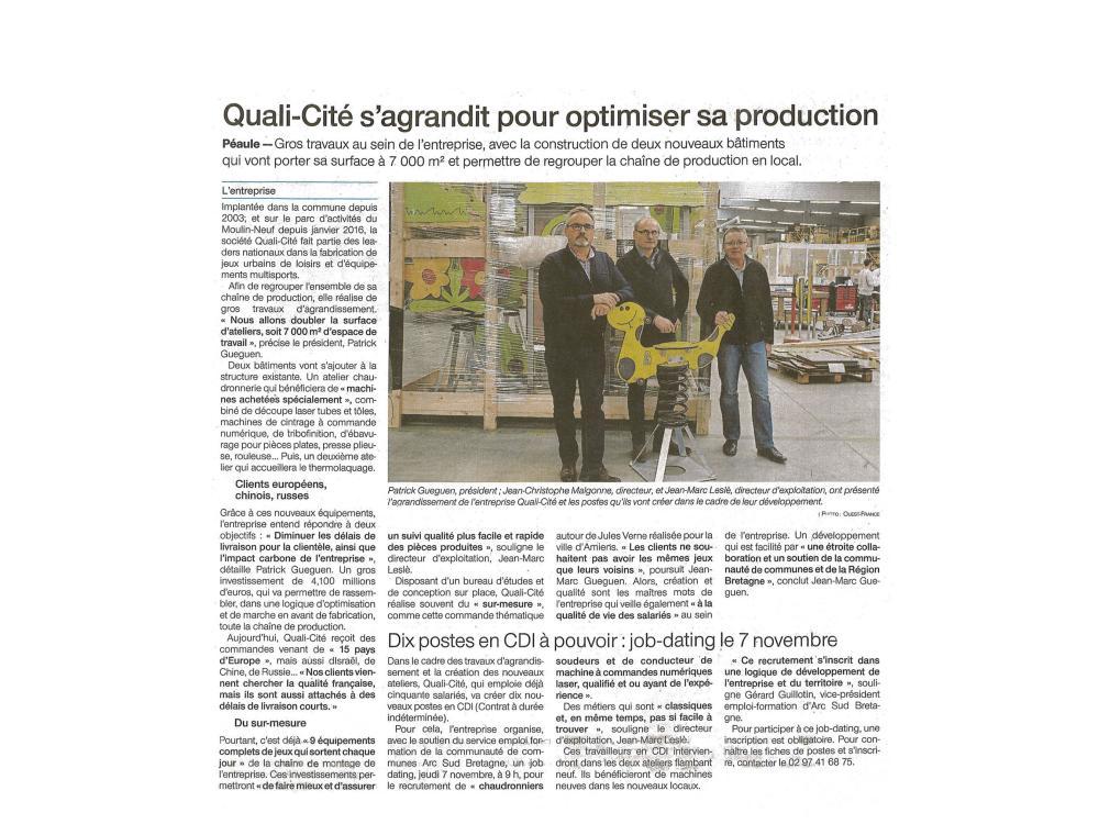 QUALI-Cité s'agrandit