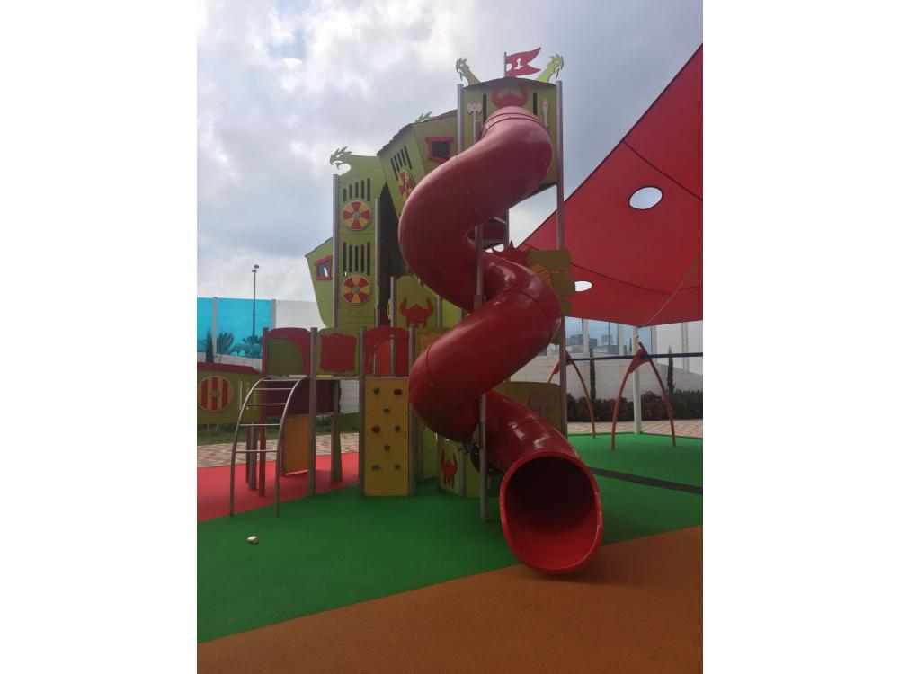Playgrounds are rising up