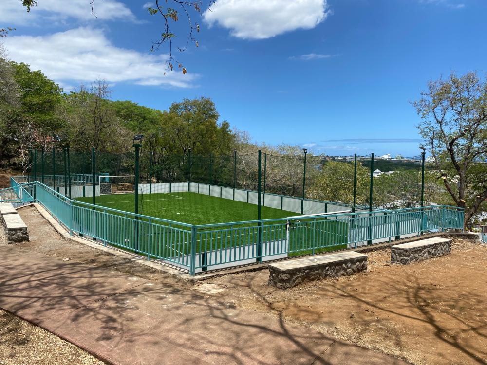 Getting a soccer field