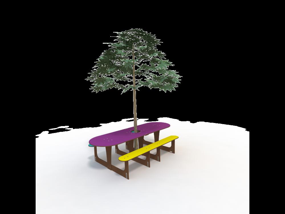 Nouvelle table pour l'école Sainte-Anne de Baud