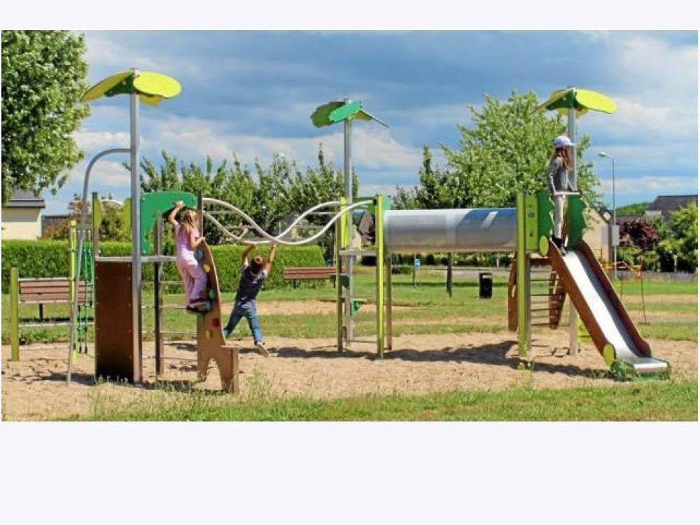 Trois nouvelles aires de jeux pour les enfants
