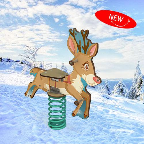 Christmas is coming : the reindeer springer is out
