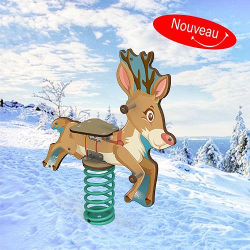 Noël approche : le ressort renne est de sortie !