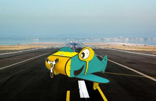 The small plane joins the City Vehicles range