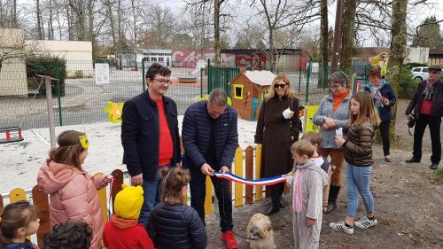 Inauguration des jeux à Martignas sur Jalle (33)