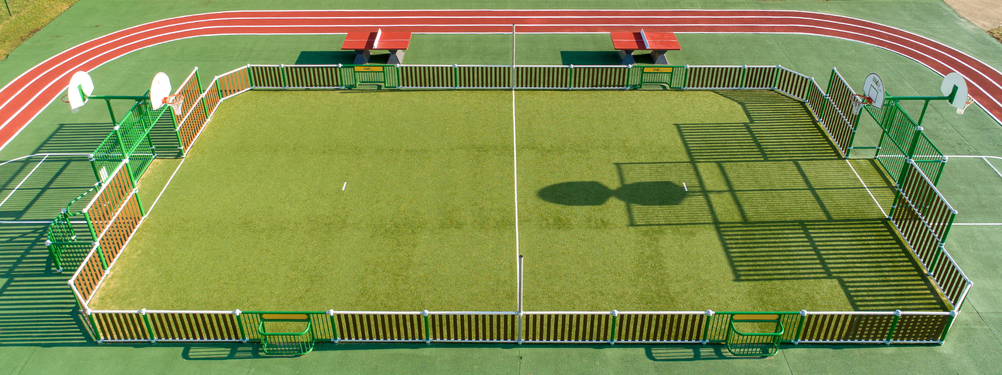 Terrain Multi-sports un équipement sportif et ludique
