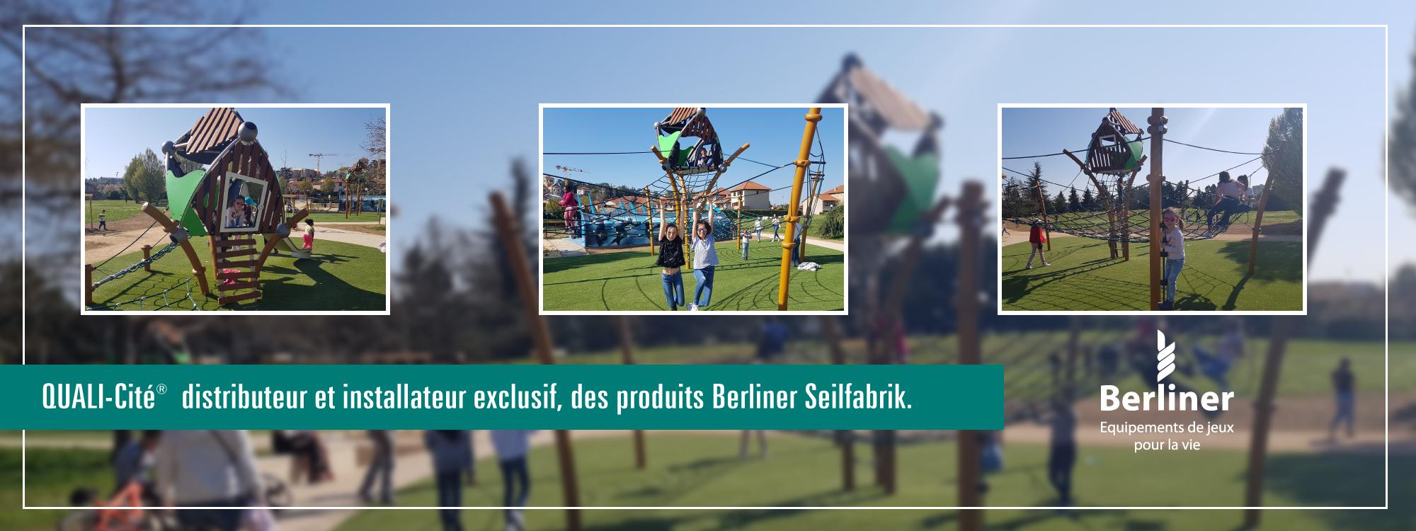 Importateur exclusif d'équipement de jeux Berliner en France