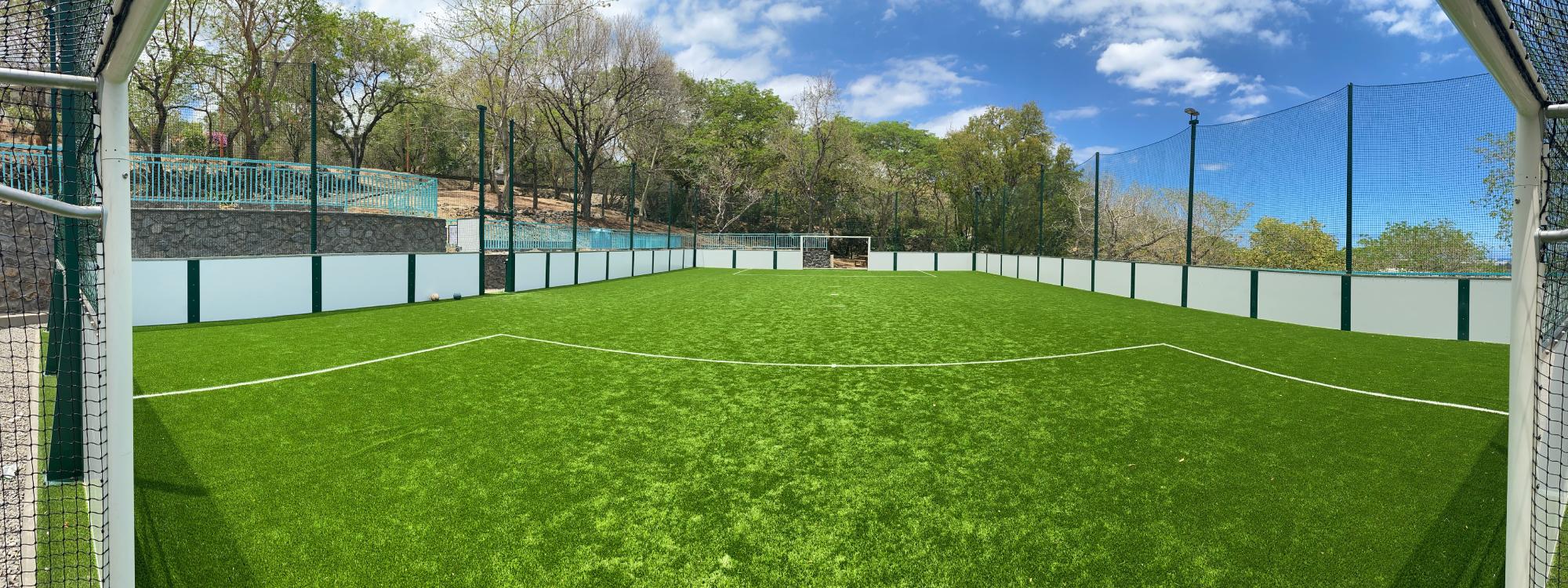 Terrains de soccer extérieurs outdoor pour la pratique du foot à 5