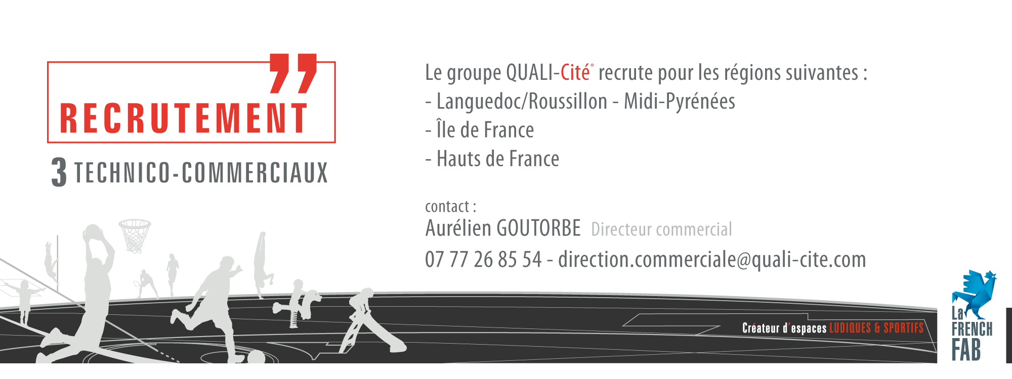 annonce recrutement commercial